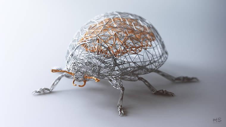The Wires - The stunning geometric animals by Matt Szulik