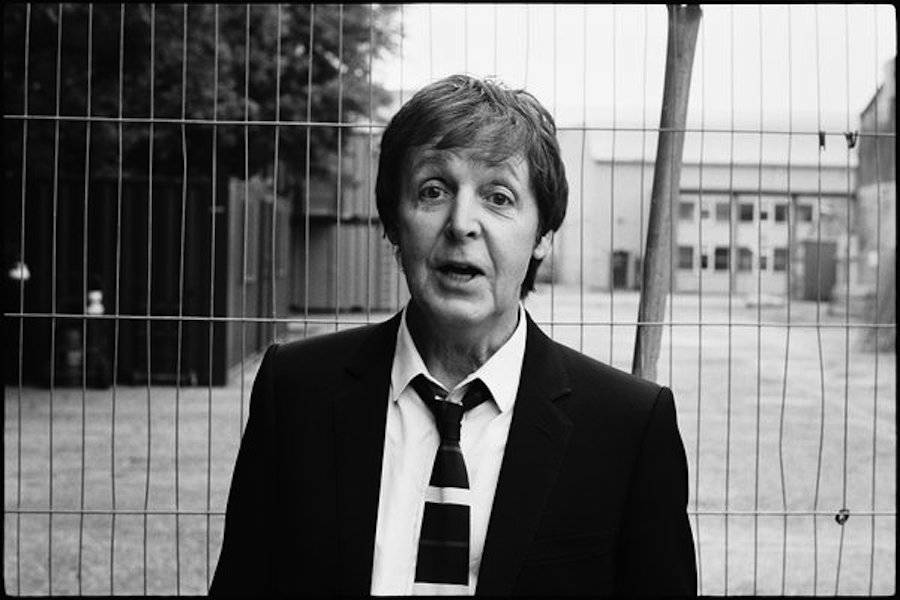 Paul McCartney, Shepperton Studios, 2007