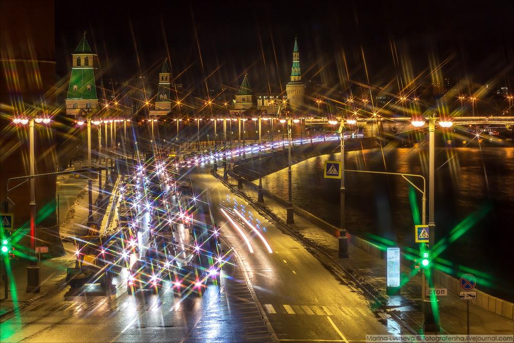 Москва предновогодняя 2016