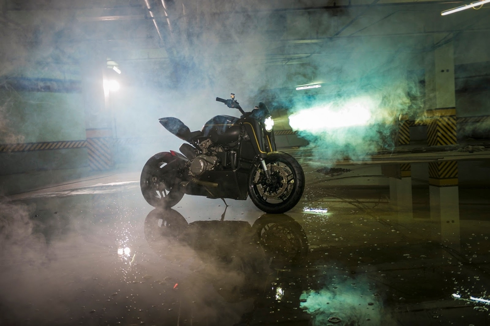 Benjie's Cafe Racers: Нейкед Ducati 899 Panigale