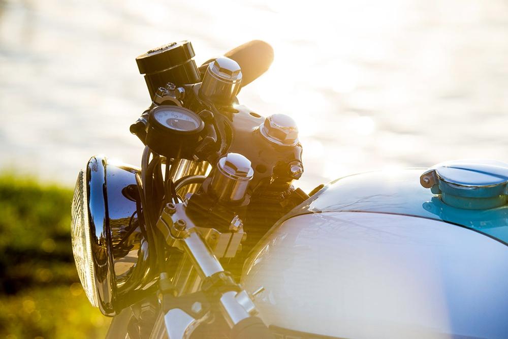J. Webster Designs: Кафе рейсер Honda CB750K