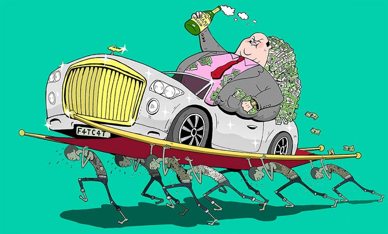 Sad modern world - The twisted satirical illustrations of Steve Cutts