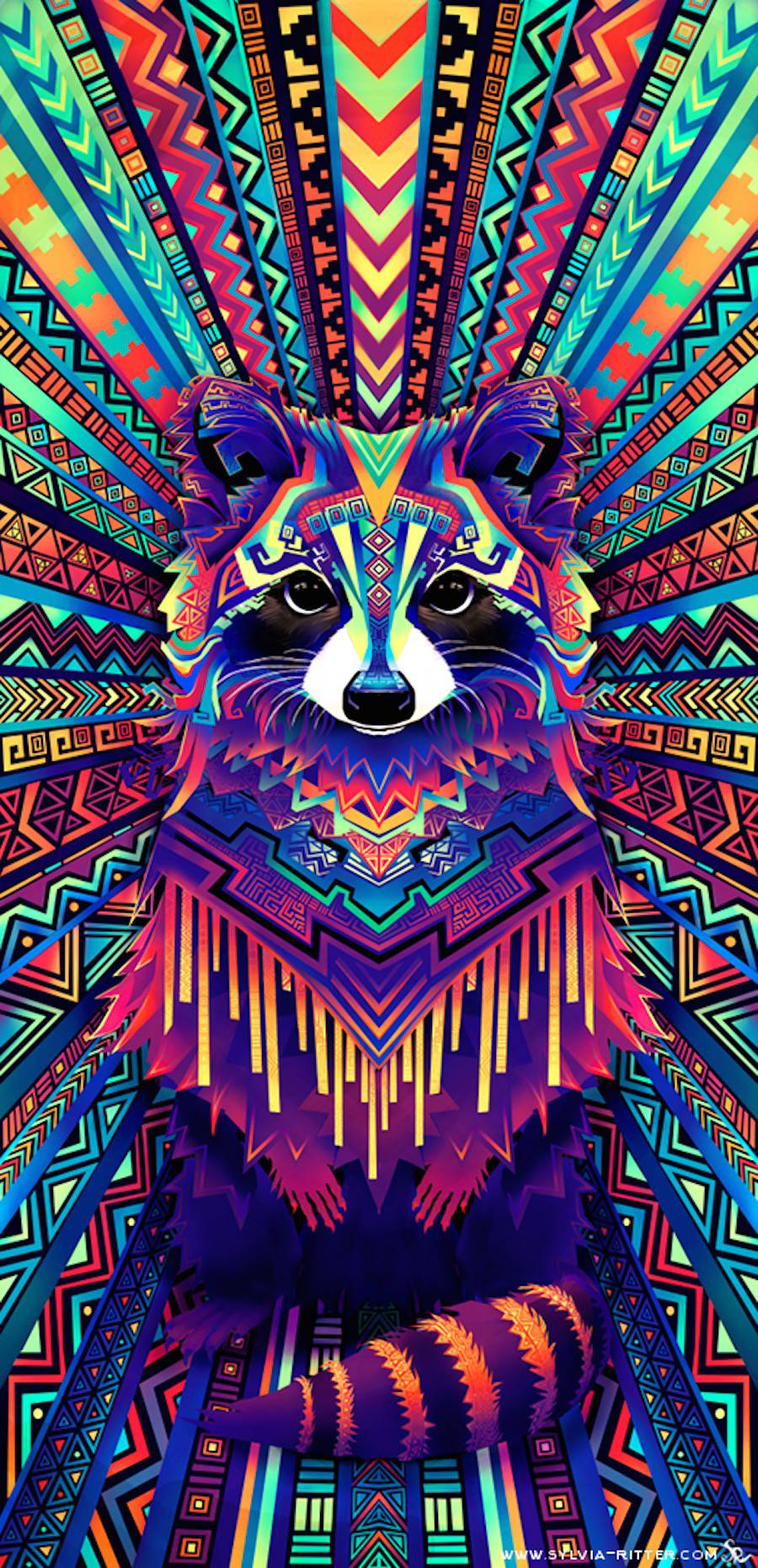 Colorful Digital Illustrations of Animals