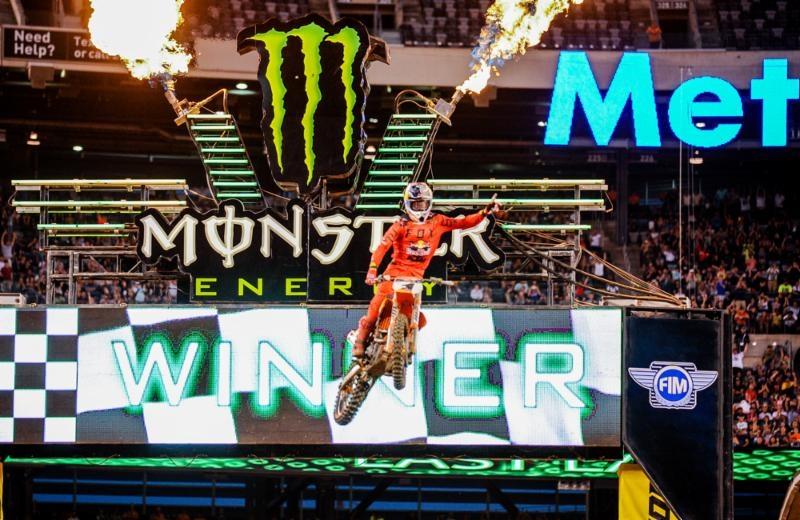 AMA Supercross 2017, этап  16 - Нью-Джерси (результаты, видео)