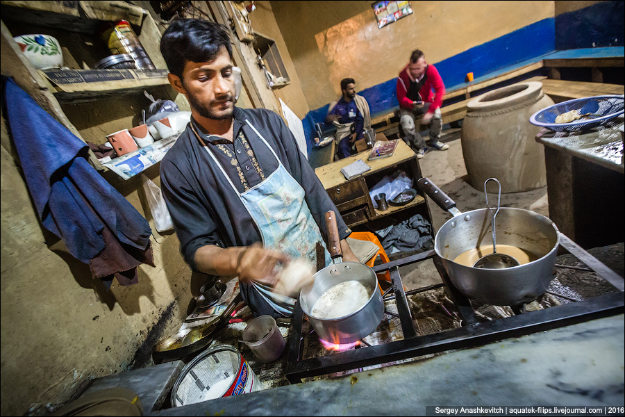 Пакистанский Starbucks