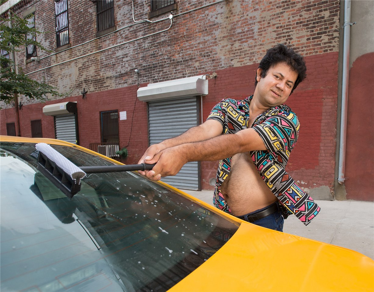 NYC Taxi Drivers calendar for 2017 - Ali