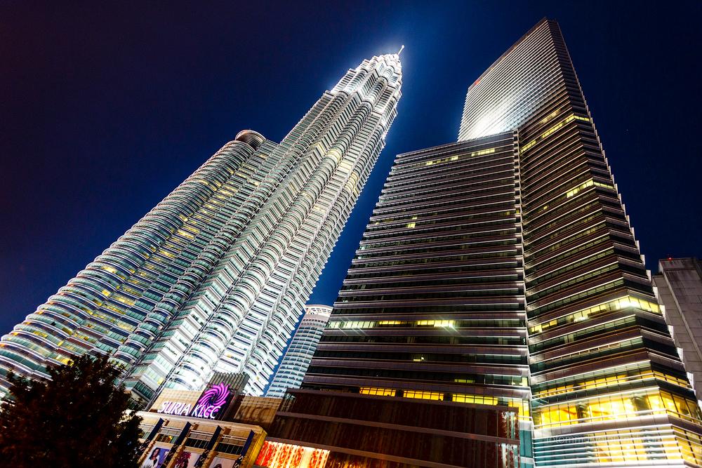 Малайзия. Куала Лумпур. Вокруг башен.