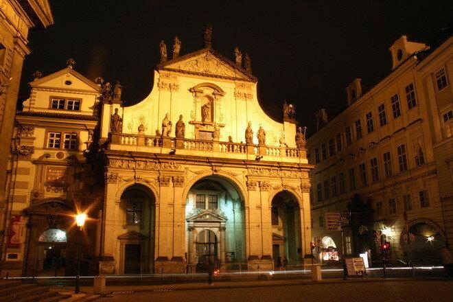 Библиотека Клементинум. Прага, Чехия