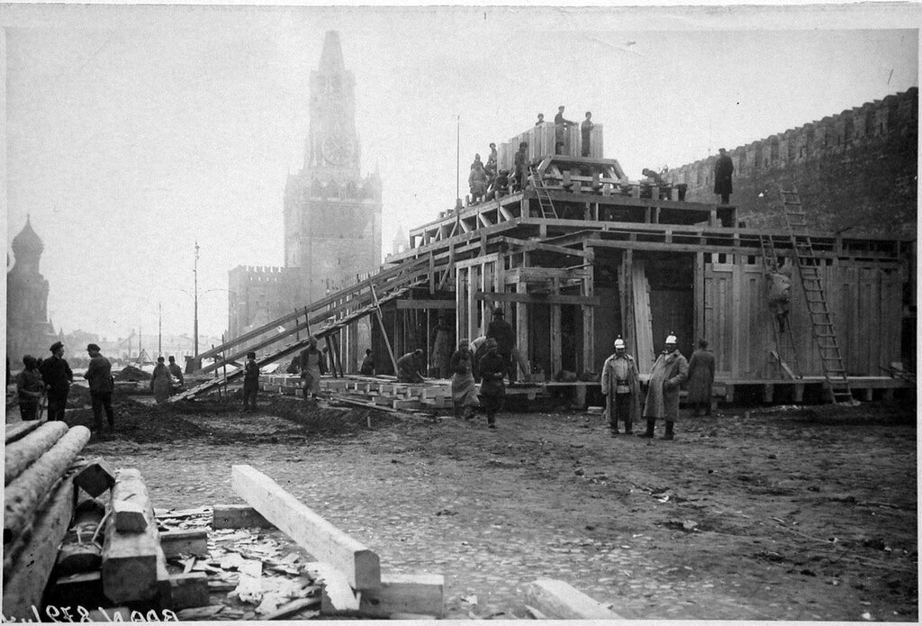 94653 Мавзолей.Строительство 1924.jpg