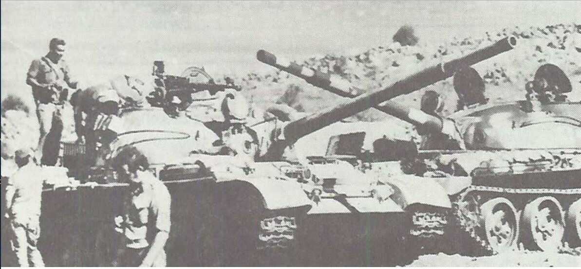 Сирийские танки, захваченные Израилем