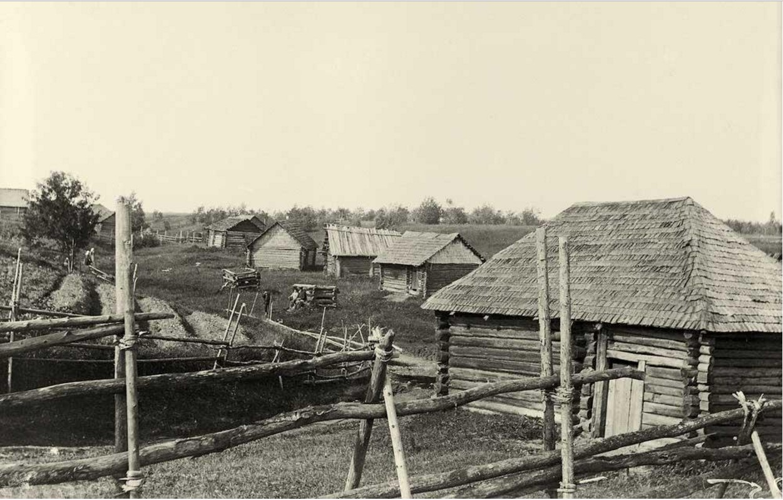 Деревня Муя. Бани