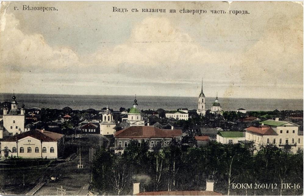 Вид на северо-восточную часть города с пожарной каланчи