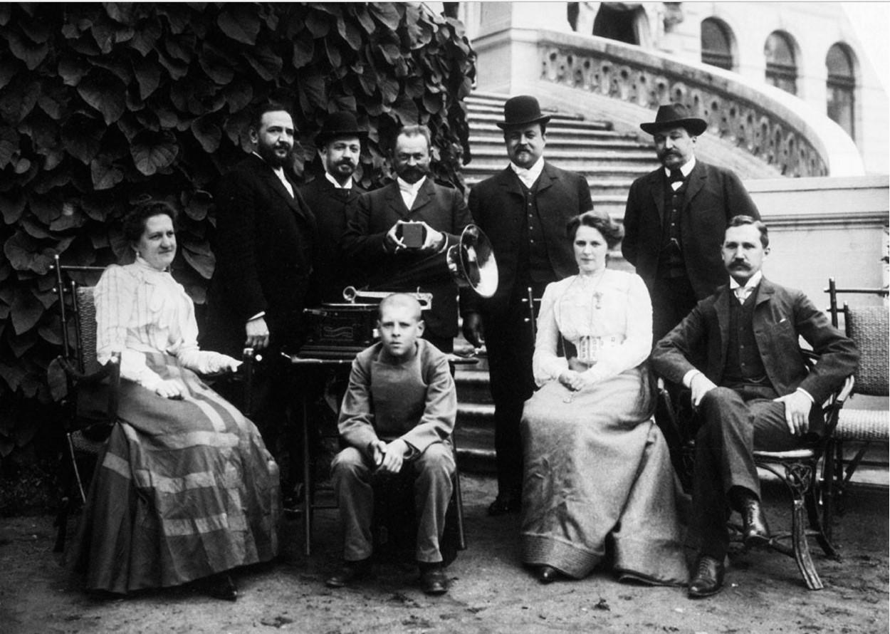 1900-е. Семья купцов Морозовых в усадьбе Одинцово-Архангельское