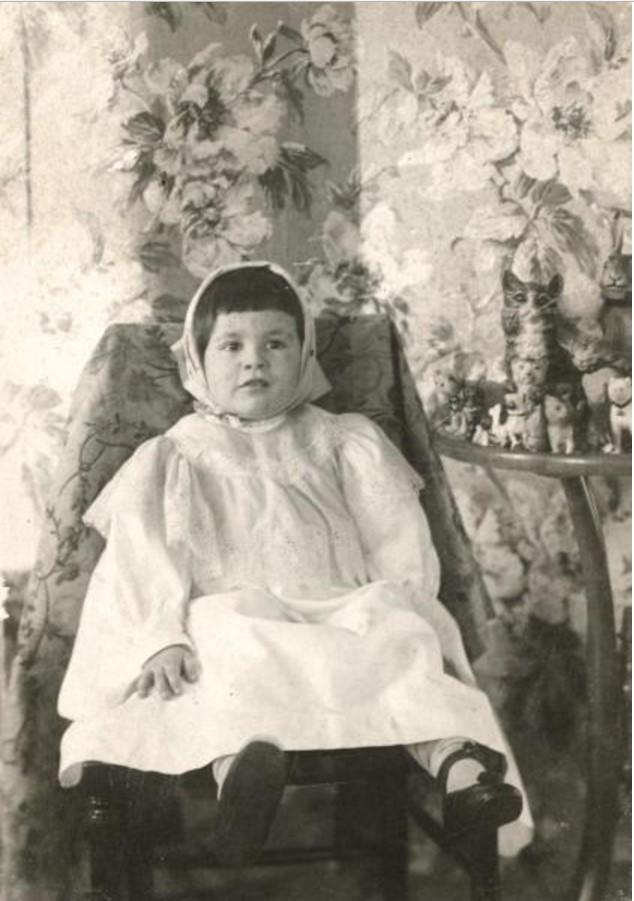 Портрет Люлюты, дочери Саввы Тимофеевича Морозова