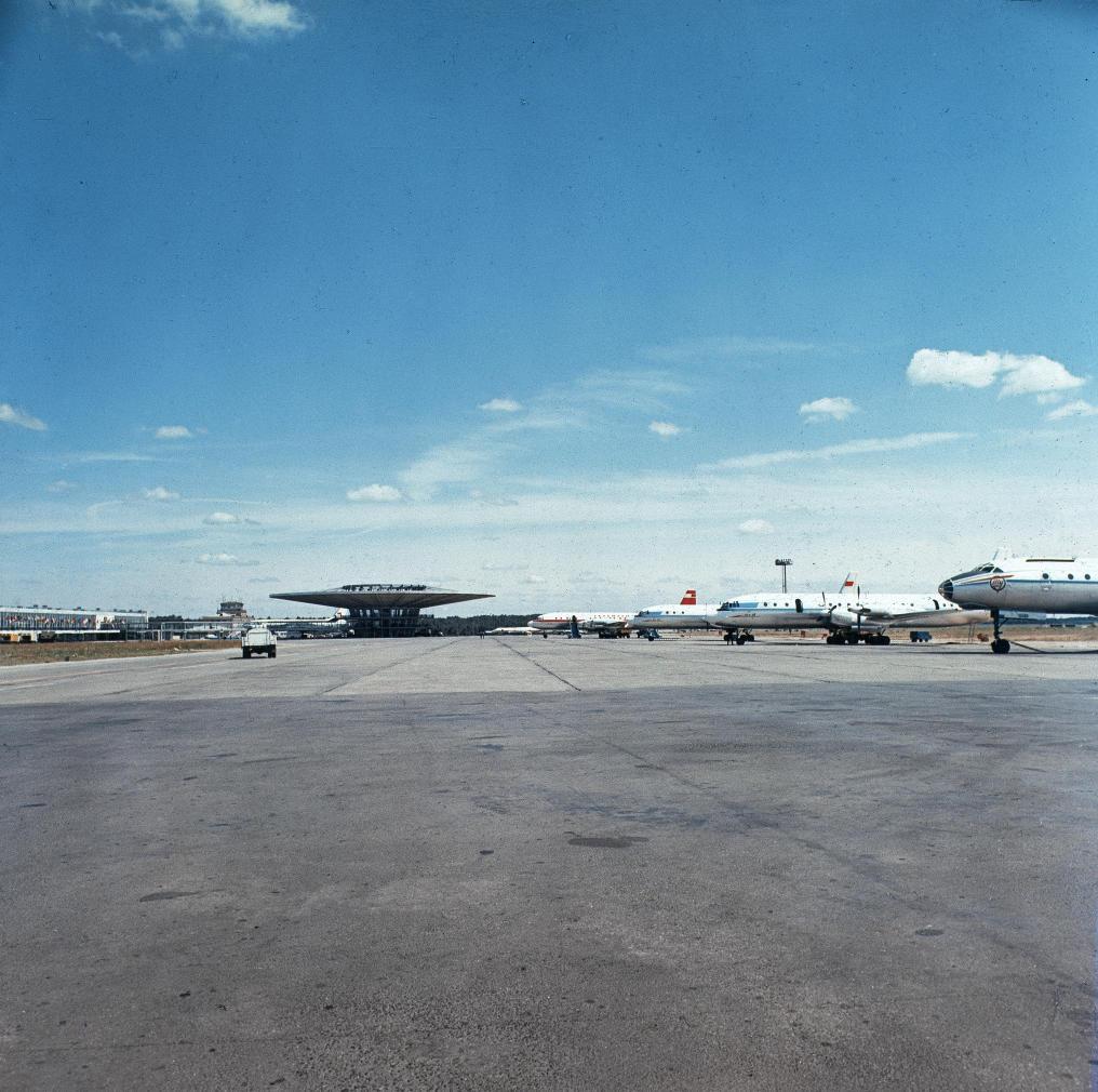 1976. Аэропорт «Шереметьево-1»