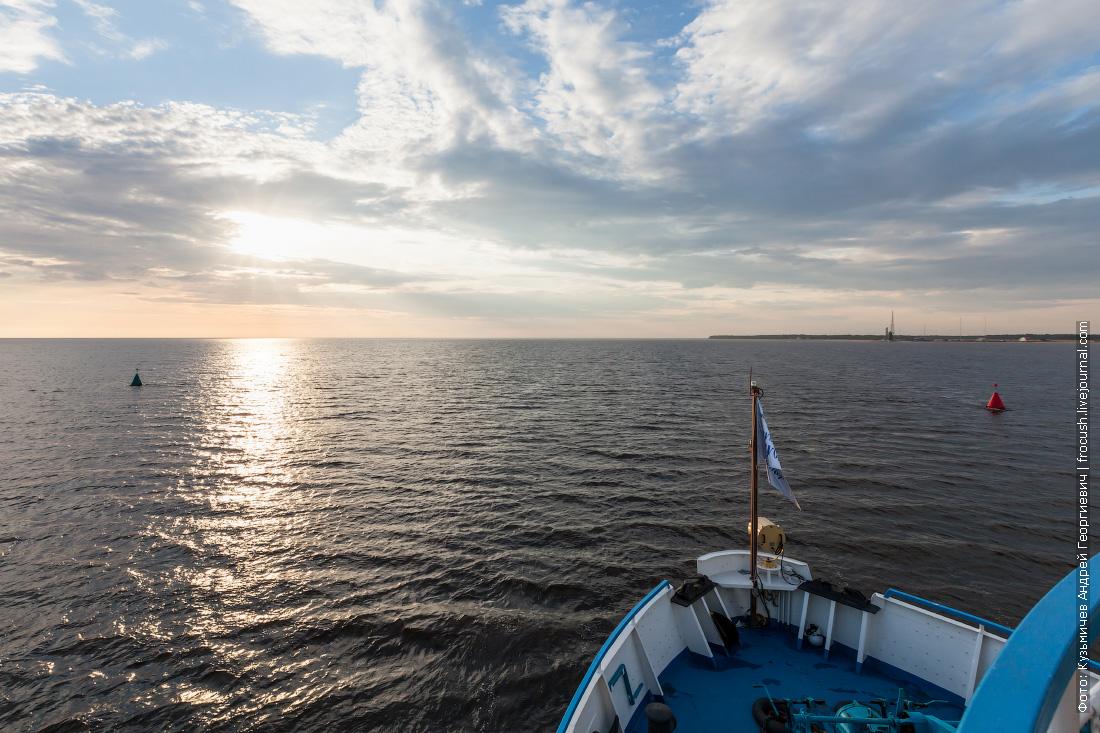 белое море фото летом
