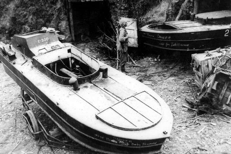 Морские смертники. 1944 - 45 г.