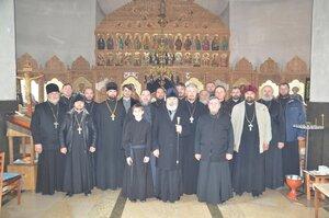 Ședința administrativă a Preasfințitului Marchel în protoieria Glodeni