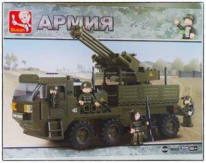 "Фотообзор Sluban M38 (B0302) ""Армия"""