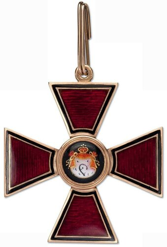 Орден Св.Владимира 2 ст. 1870-1880 Кейбель.jpg