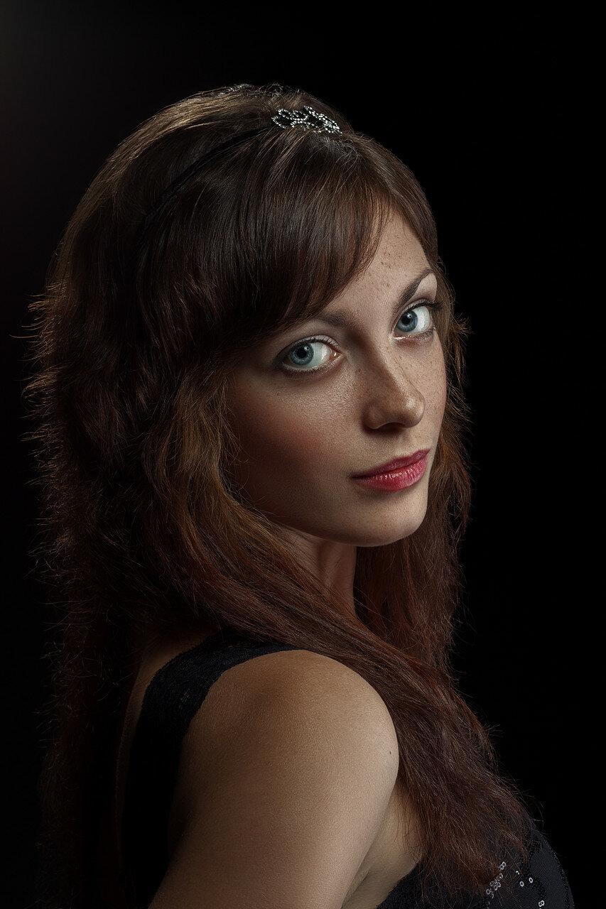 Портрет с веснушками