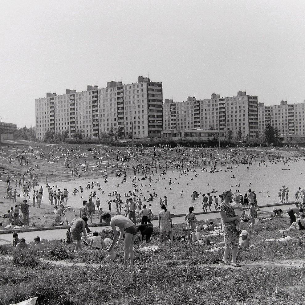 3. Москва, ул. Удальцова, 1972 г.