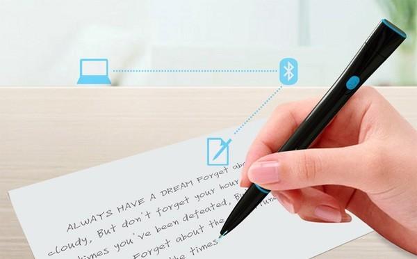 Recorder Pen: чудо-ручка, которая превращает рукописный текст в печатный (4 фото)