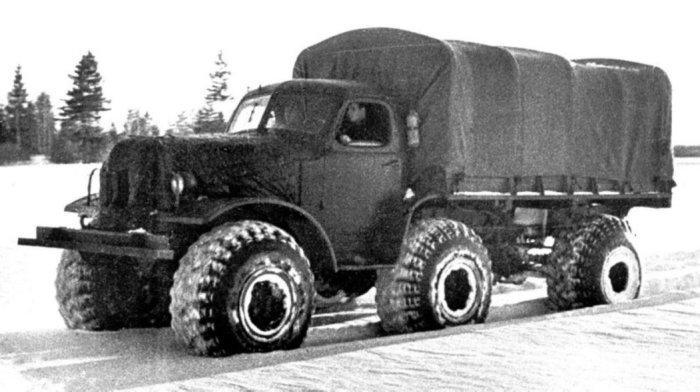 ЗИЛ-157Р – внедорожный прототип гражданского грузовика.