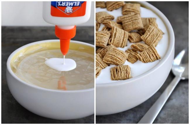 © justataste.com  Внастоящем молоке хлопья быстро размокают иопускаются надно тарелки. Если