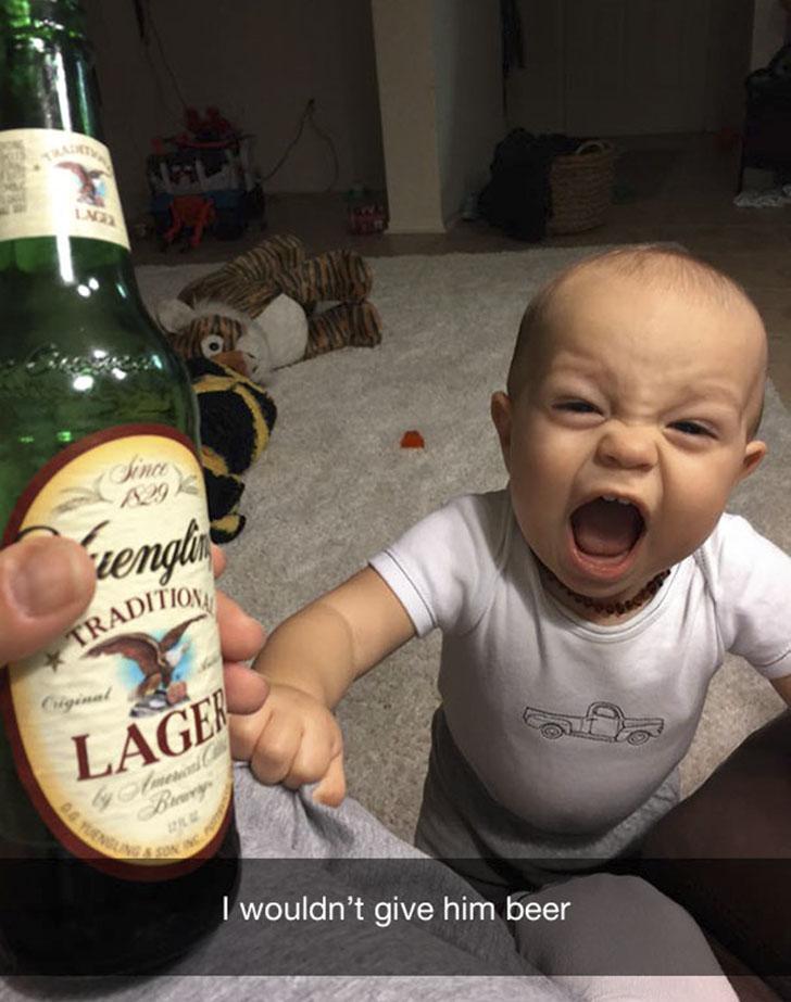 «Я не дал ему пива».