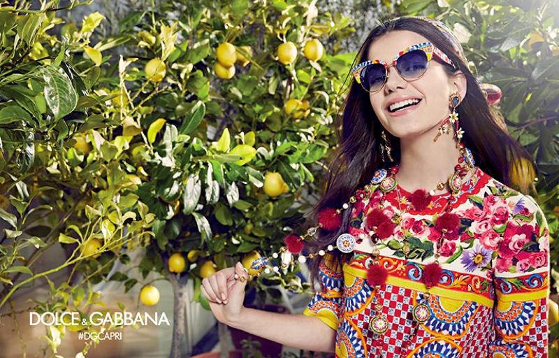Dolce & Gabbana представили коллекцию очков