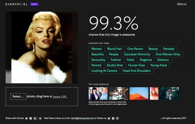 Этот сайт покажет, насколько круты ваши фото (2 фото)