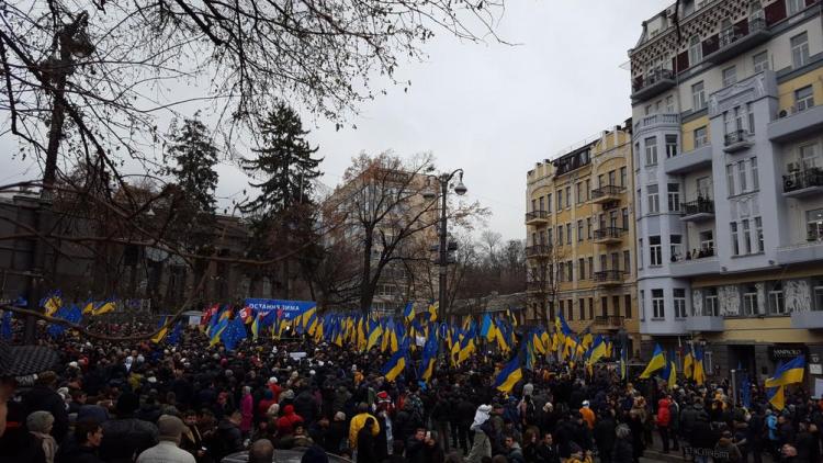 Саакашвили начал собирать деньги напревращение Украины всверхдержаву