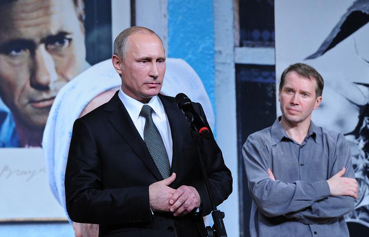 Артист Евгений Миронов отмечает полувековой юбилей