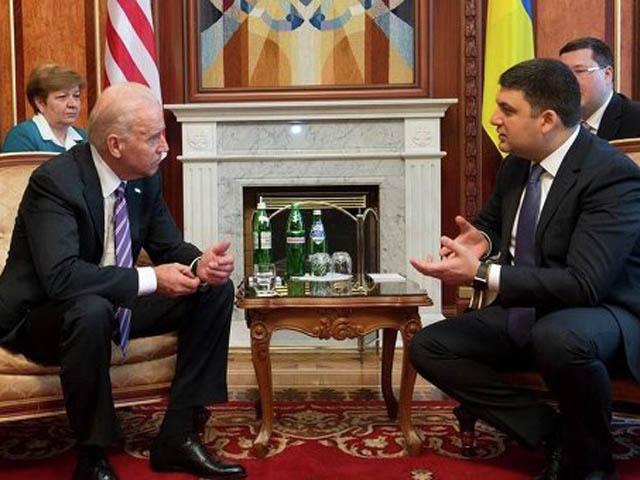 Джо Байден прибыл встолицу Украины