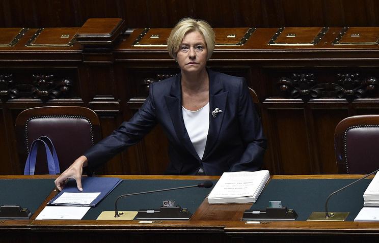 Министр обороны Италии призвала ксозданию «оборонного шенгена»