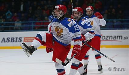 Юниорская сборная РФ впервый раз с2011 года завоевала медальЧМ похоккею