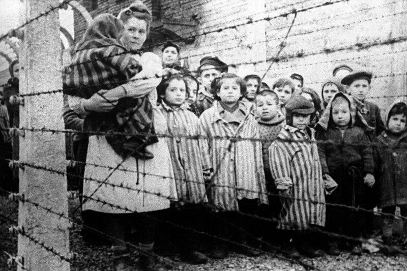 Освобожденные дети Освенцима