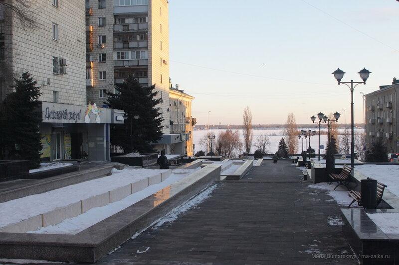 Набережная Космонавтов, Саратов, 02 февраля 2017 года
