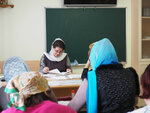 Воспитатели ДОУ сдали зачет по предмету «Введение в Закон Божий»