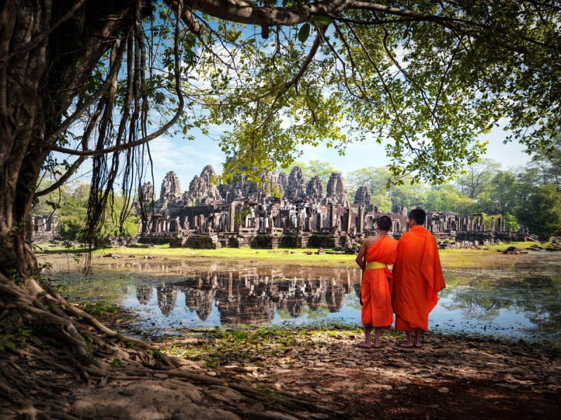 Average summer rates in Siem Reap: June — $63, July — $63, August — $65 2. The Sheikh Zayed
