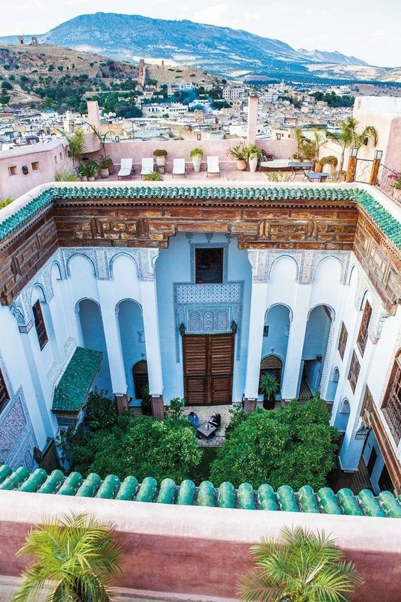 One of the most undeniably romantic destinations for couples is Fez, Morocco. There is something
