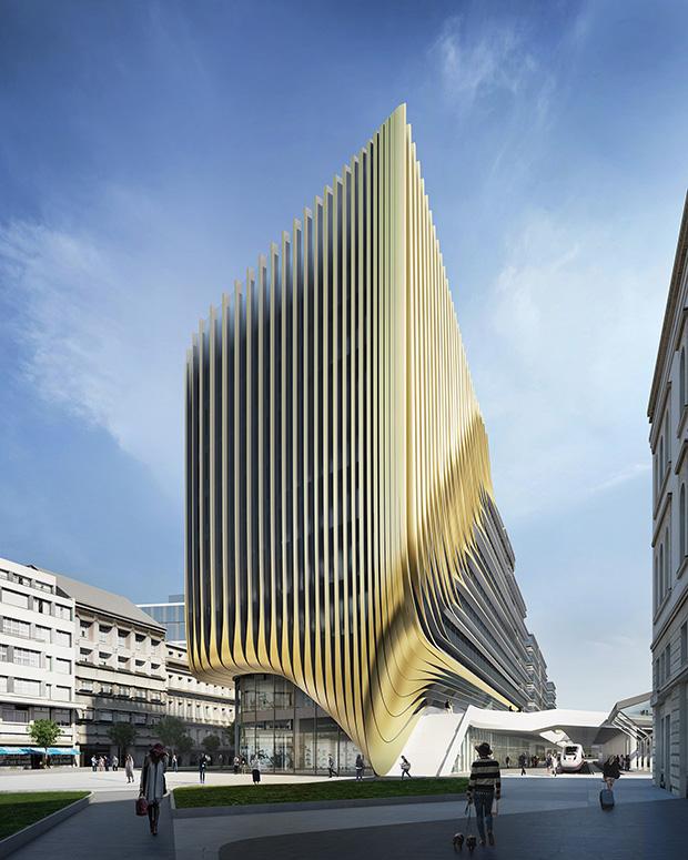 Zaha Hadid Architects: Prague Brownfield Site Regeneration