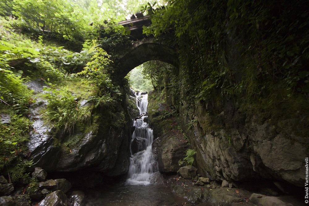 Ущелье реки Мачахела,