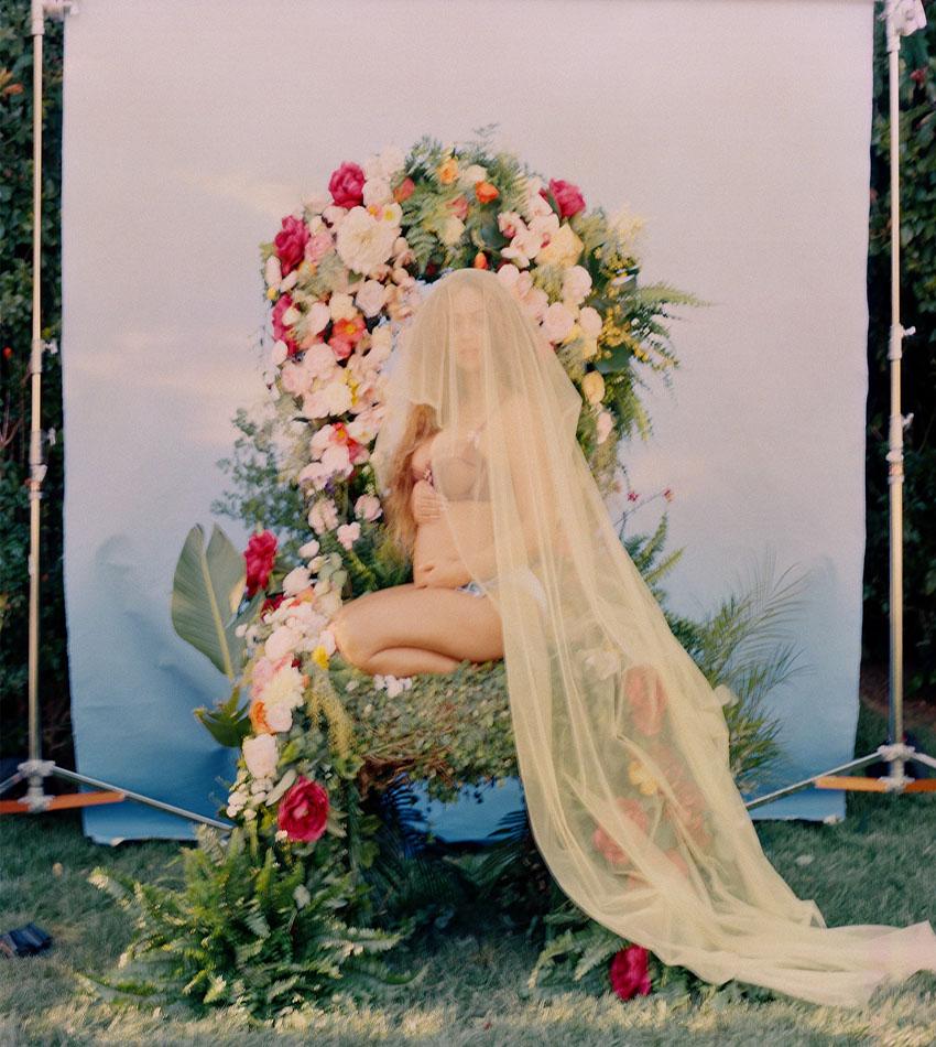 Beyonce Pregnant. Photo Credit Awol Erikzu