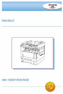 service - Инструкции (Service Manual, UM, PC) фирмы Mita Kyocera - Страница 2 0_138319_c3447349_orig