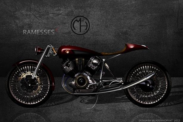 Младен Хорват: Концепт мотоцикла Ramesses