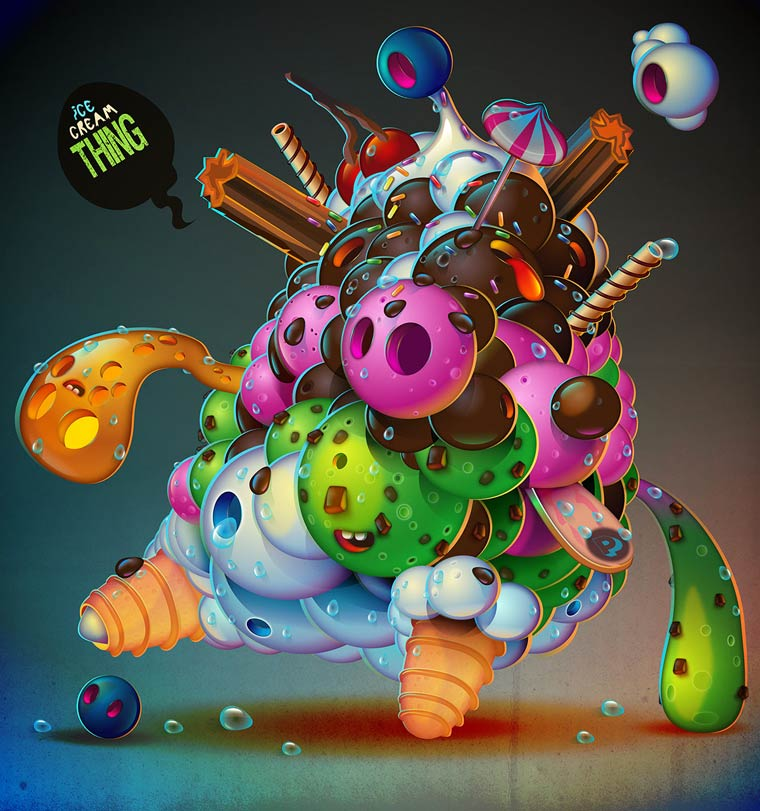 Plastic Nation - Les creations pop et acidulees de Jonathan Ball