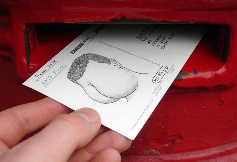 Hate Mail - Un artiste envoie des insultes stylisees a vos amis (ou vos ennemis)