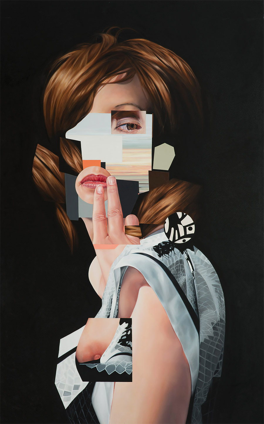 Surreal Paintings & Collages by Jennifer Nehrbass